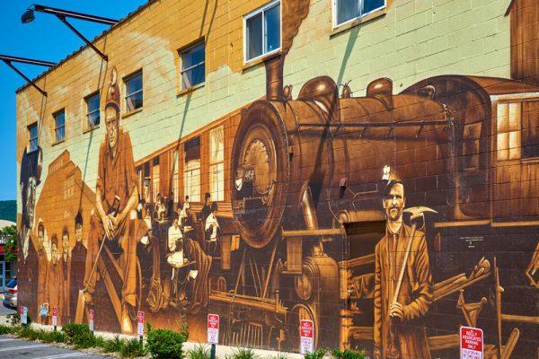 Downtown Pittston, Pennsylvania