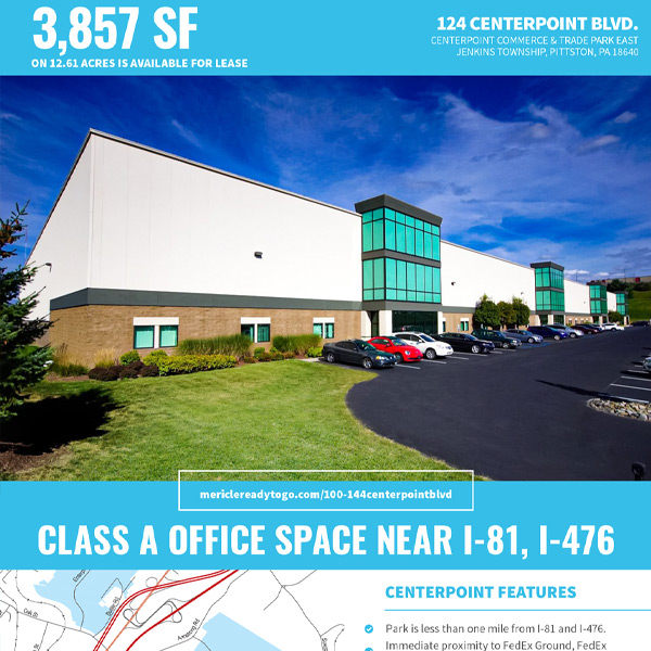 124 CenterPoint Blvd office space