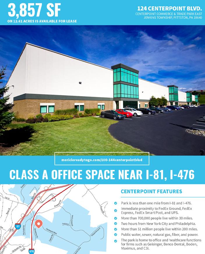 124 CenterPoint Blvd office space