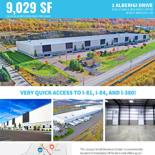1 Alberigi Drive, Jessup Small Business Center