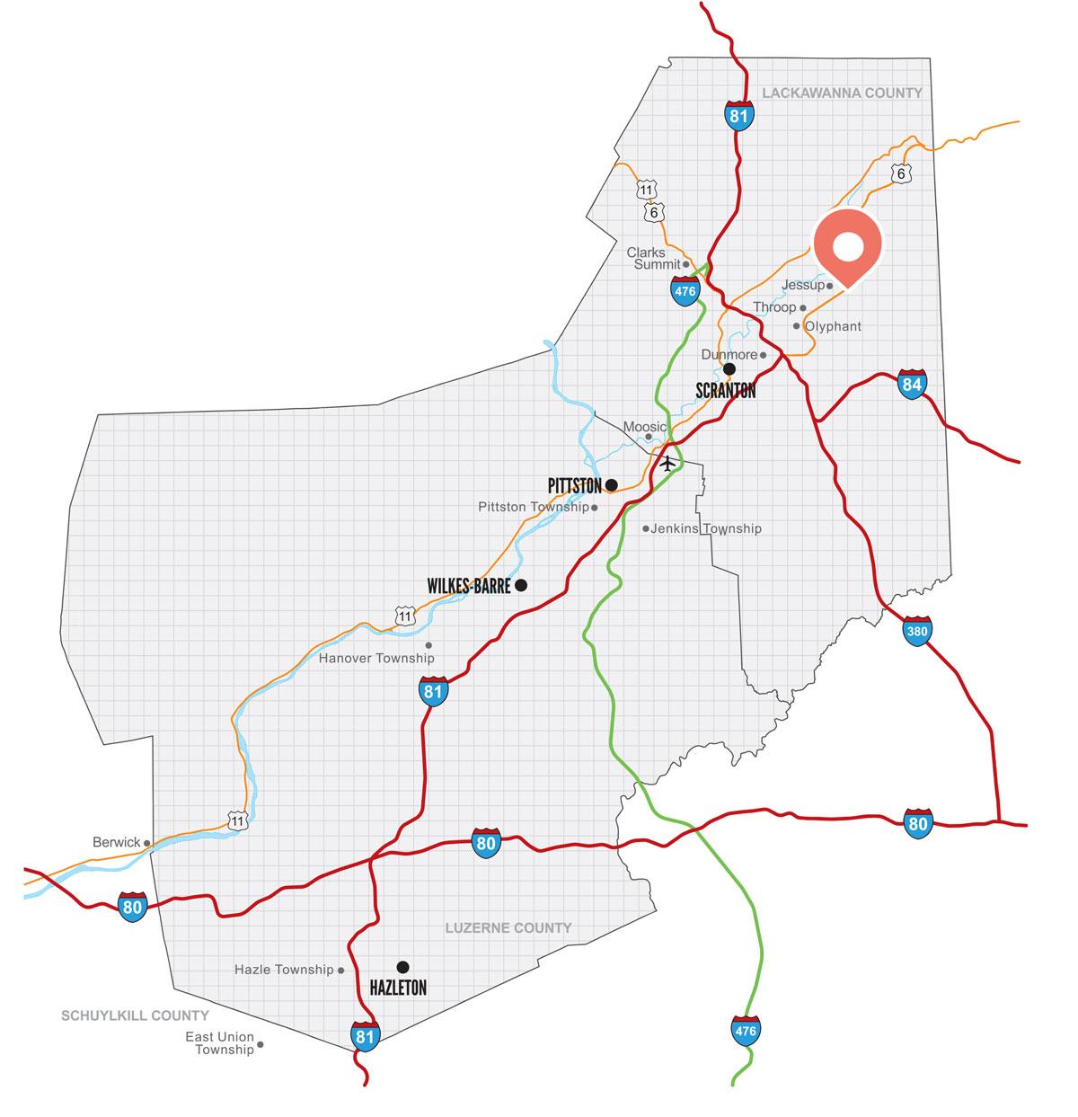 1 Alberigi Drive, Jessup Small Business Center map