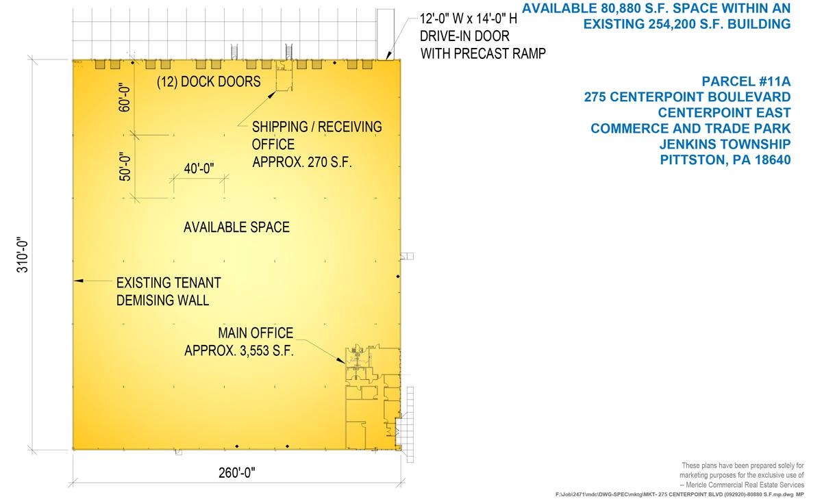 275 CenterPoint Boulevard Floor Plan