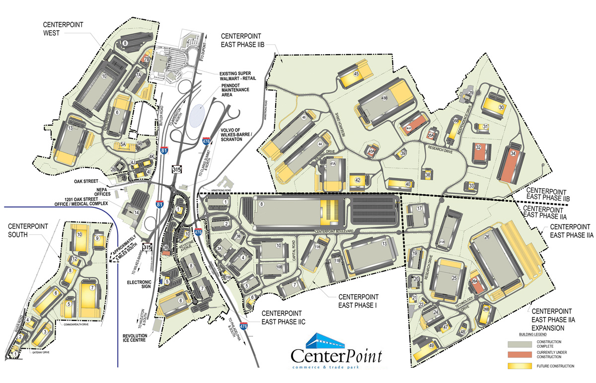 CenterPoint overall map